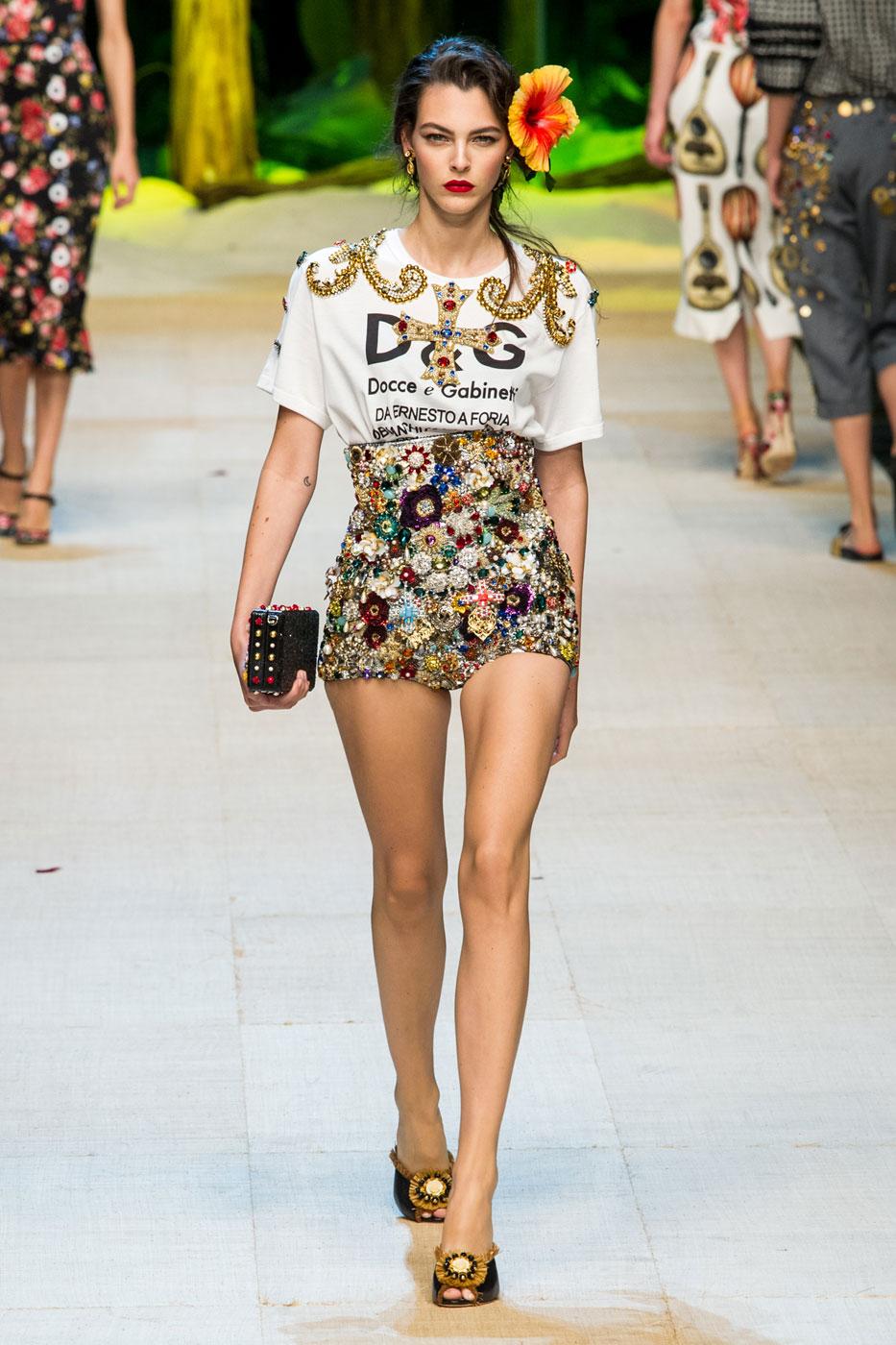 Dolce Gabbana Woman Fashion Shows