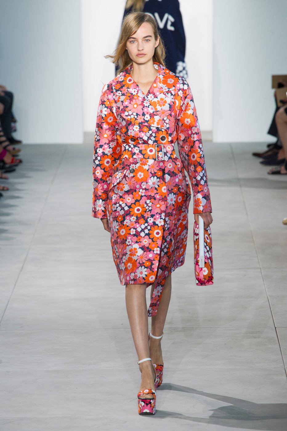 Michael Kors Hits Floral Notes for Spring/Summer 2017