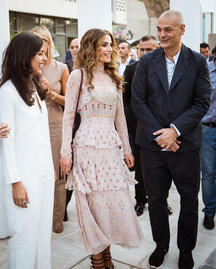Amman Design Week Launches with the Support of Queen Rania