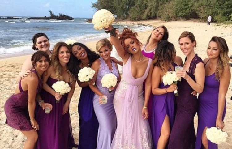 Rihanna bff wedding