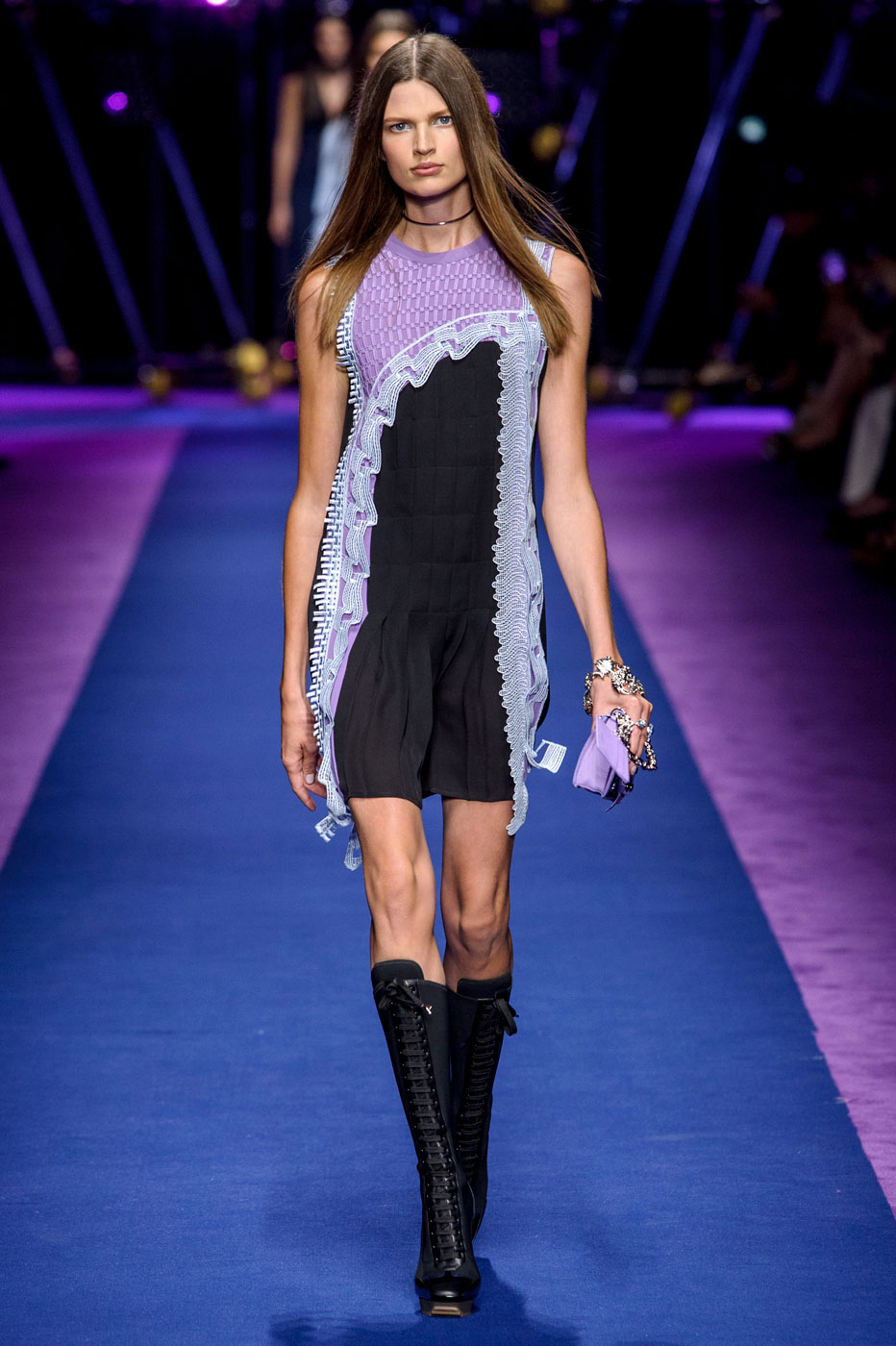 Donatella Versace Diversifies Her Aesthetic for Spring/Summer 2017