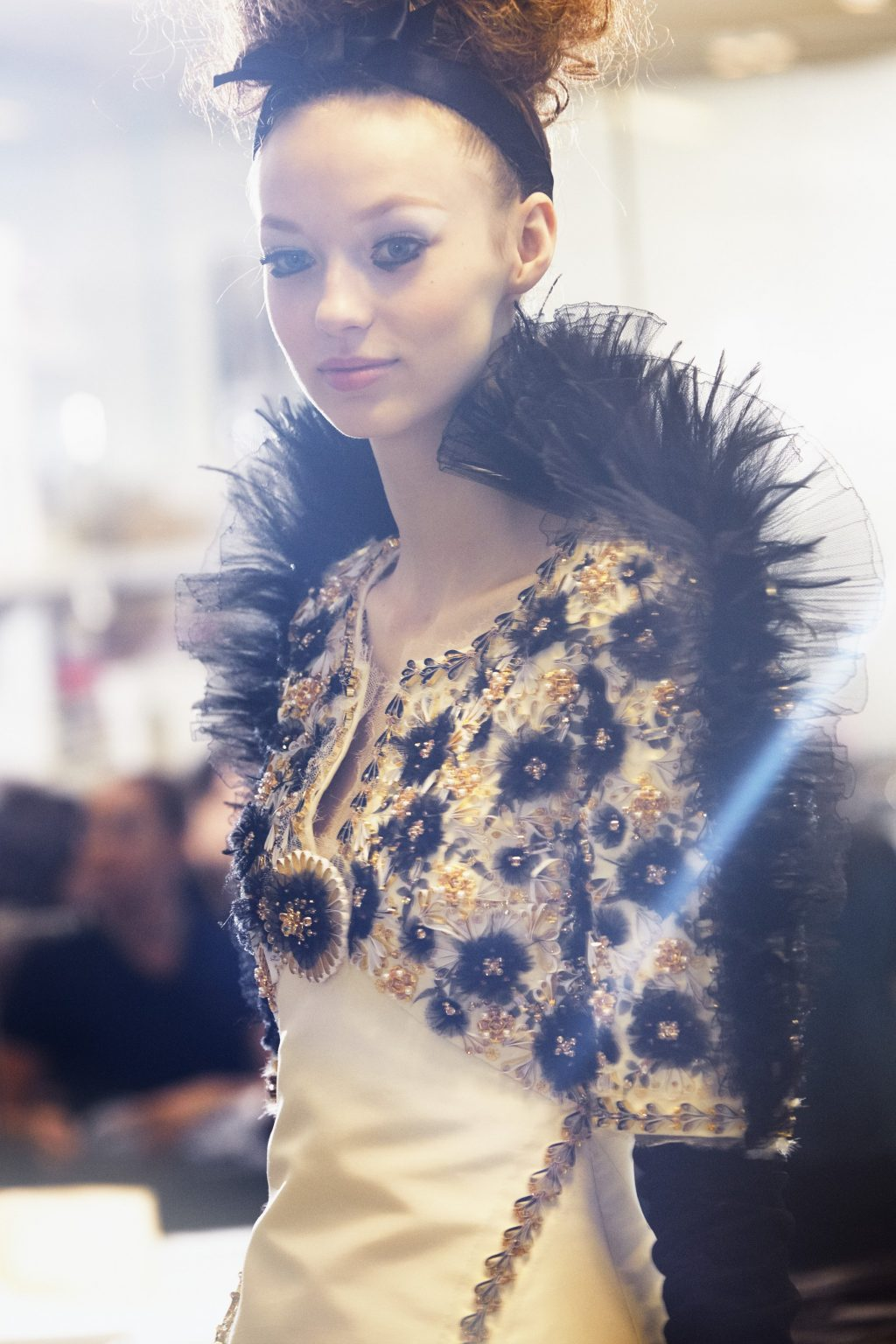 A Closer Look at How This Exquisite Chanel Couture Gown Was Created
