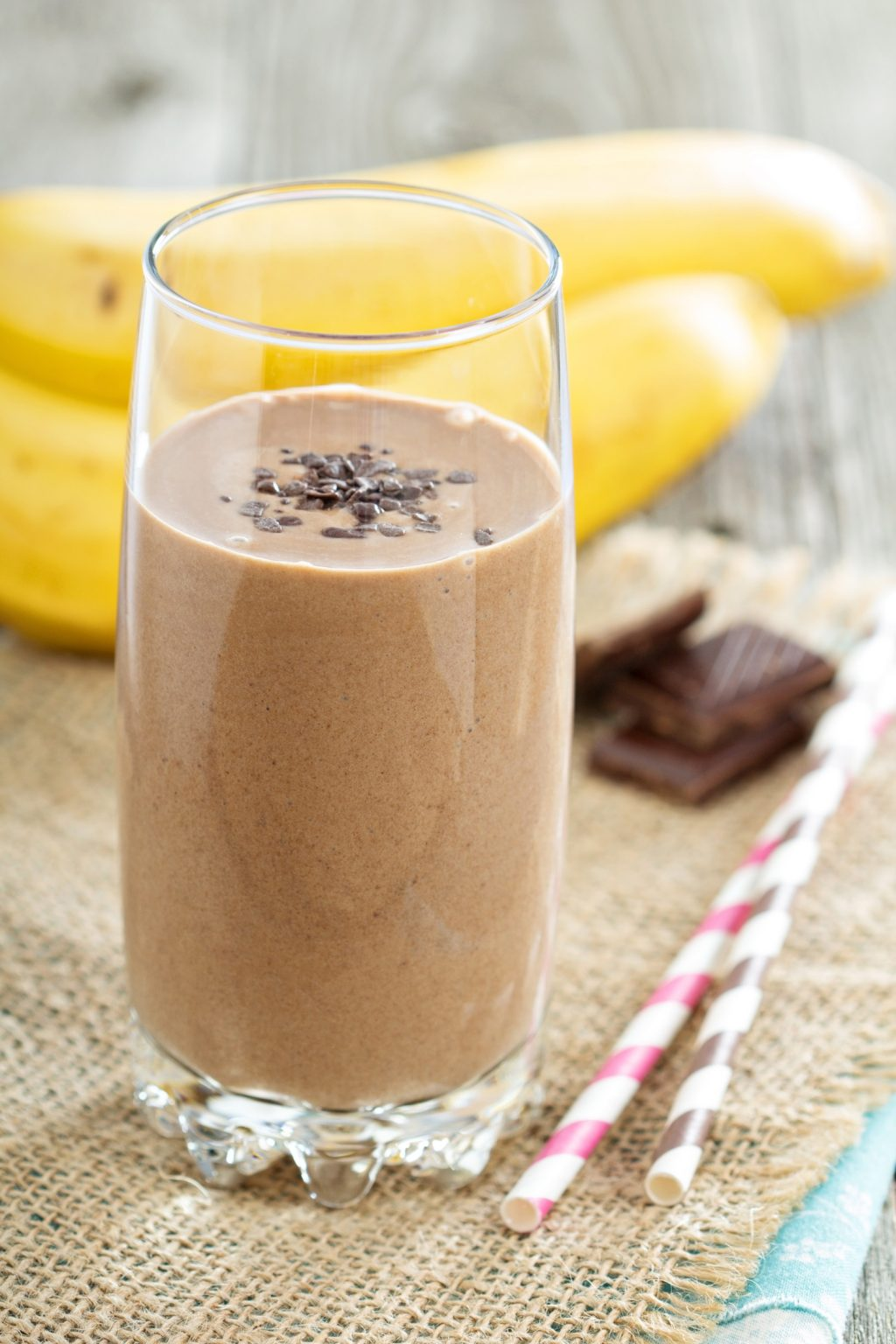 Healthy Chocolate Banana Smoothie Recipe