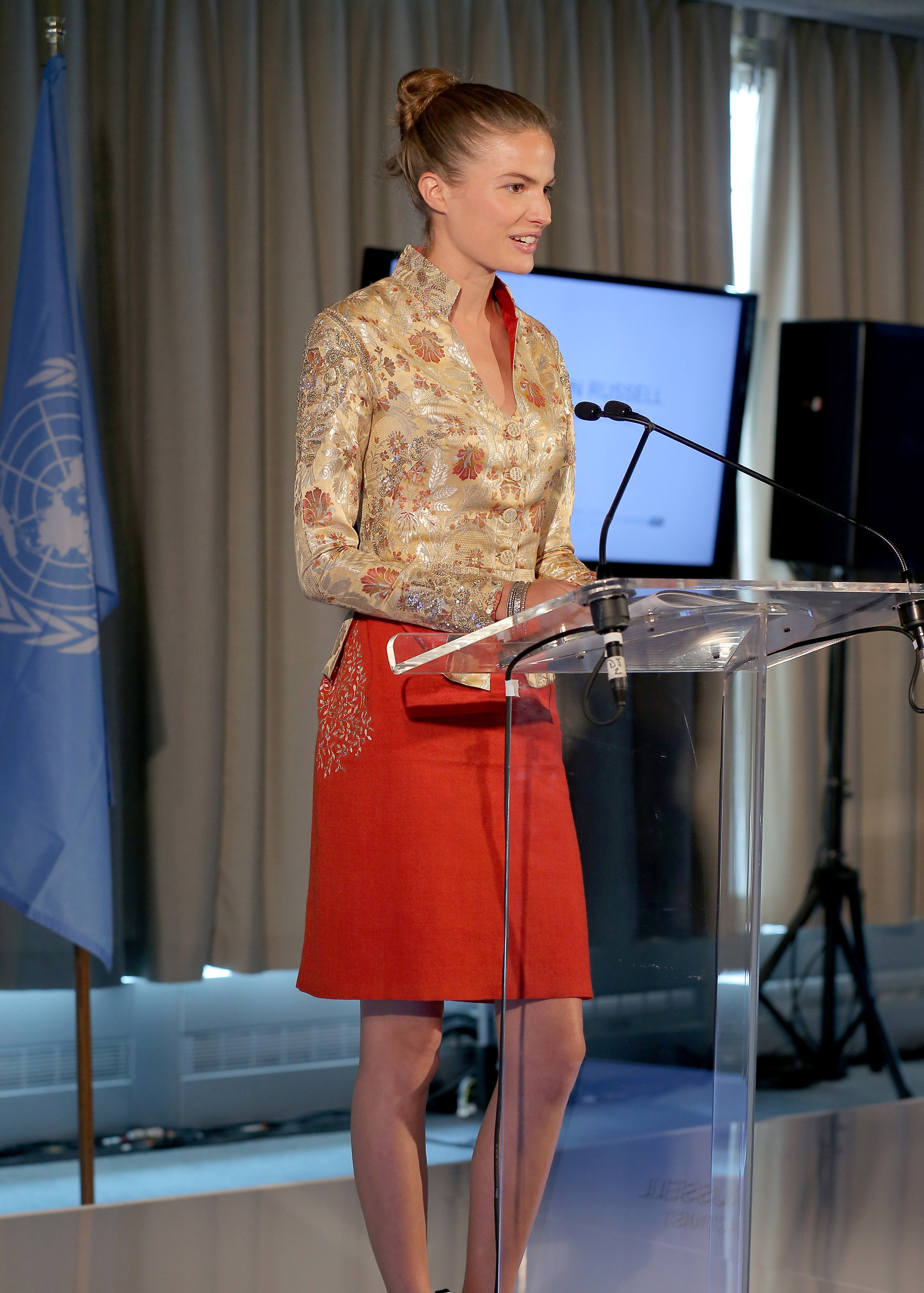 Cameron Russell - Women Empowering Women Luncheon And Fashion Show At The UN For LDNY Festival Launch