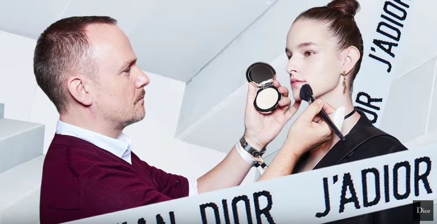 Go Backstage at Paris Fashion Week to Discover Dior's Dreamy Beauty Look