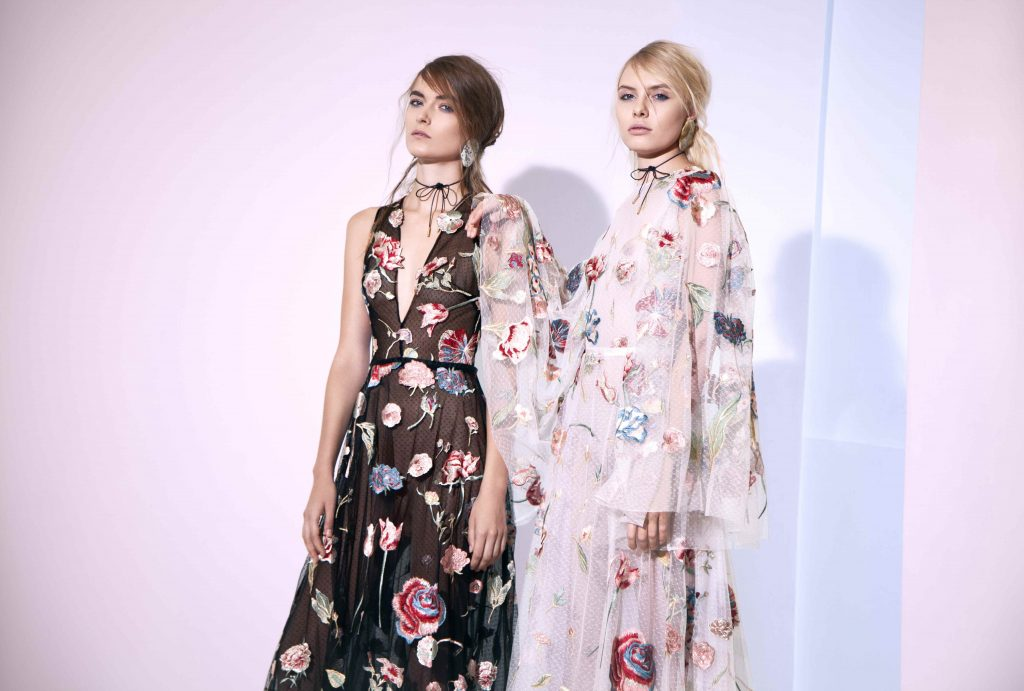Journey into a Floral Abyss with Sandra Mansour's Spring 2017 Collection