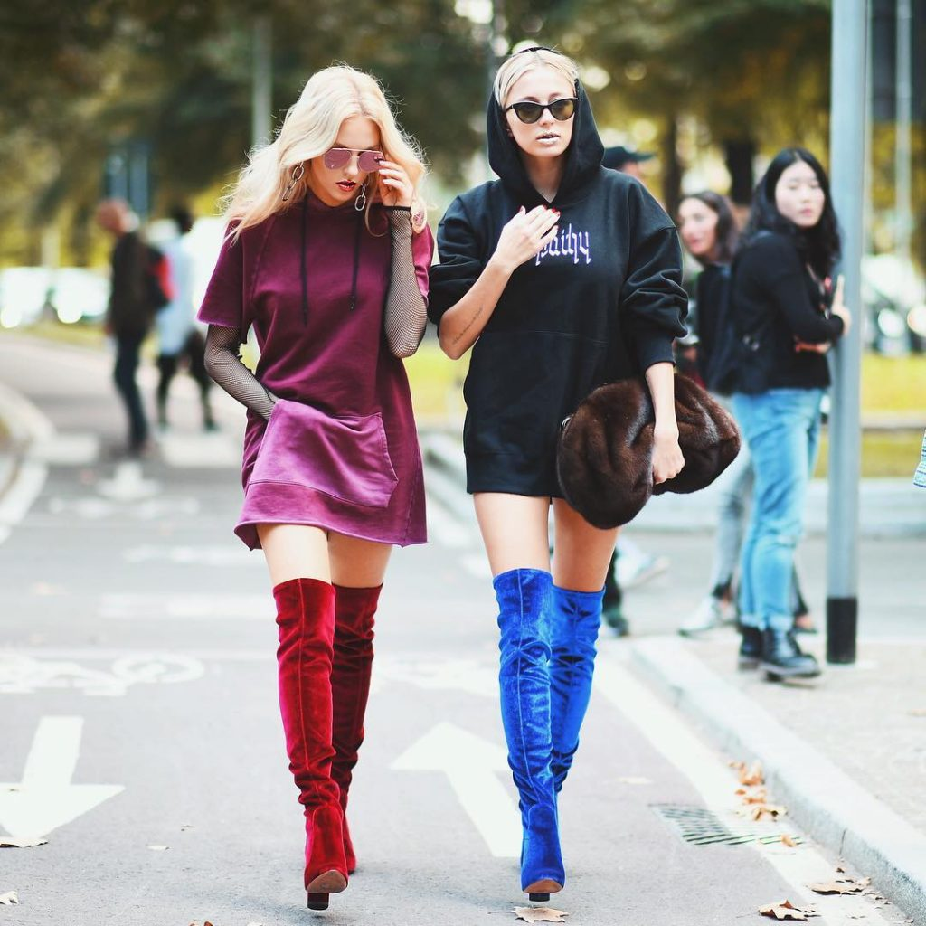 Why It's Time to Bid Farewell to Your Black Thigh-High Boots