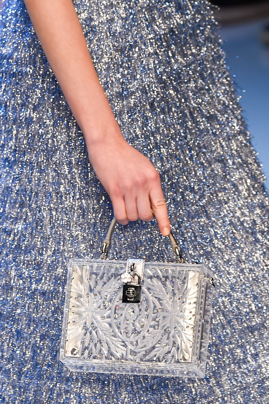 Clear Heels? They're Back, and So Are Reveal-All Bags