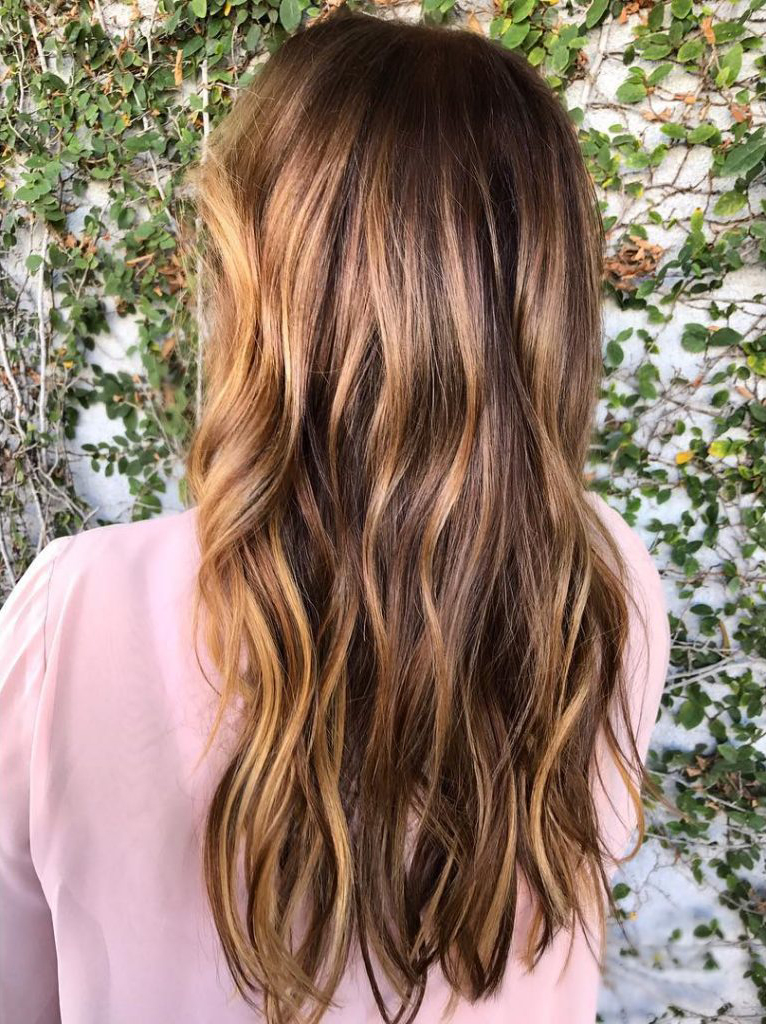 Tiger eye hair is the hot new celebrity hair trend savoir flair - Balayage oeil de tigre ...