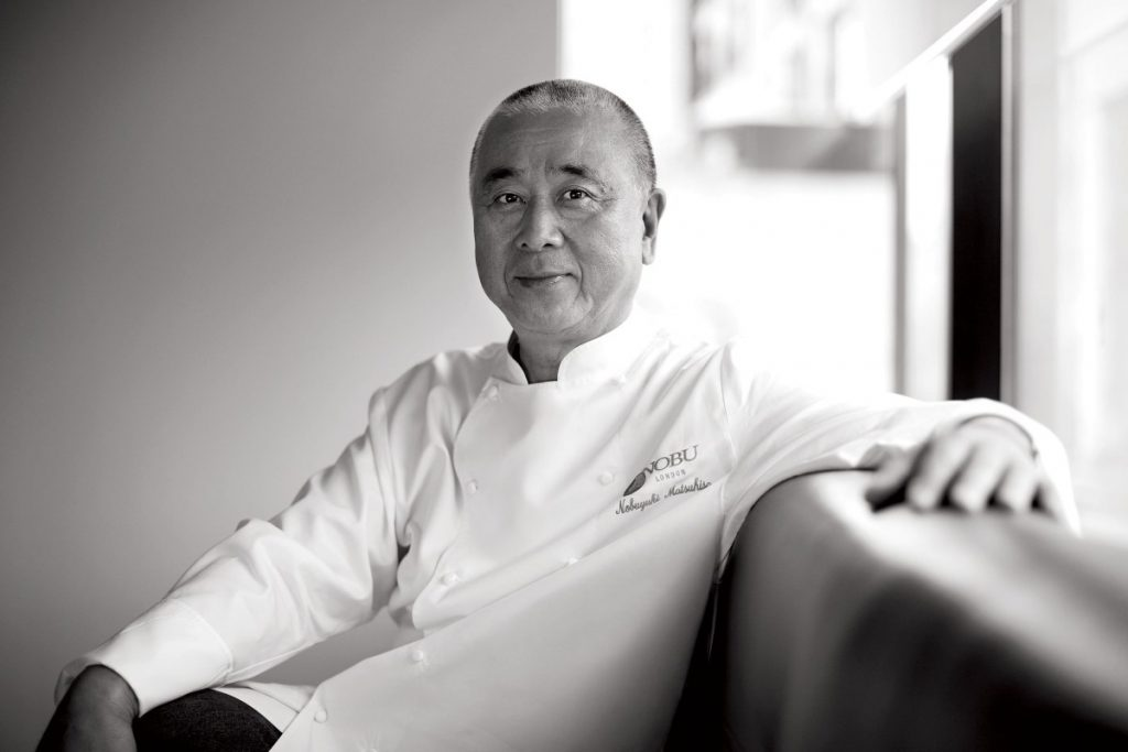 You Can Soon Mingle with Chef Nobu Matsuhisa – But It'll Cost You