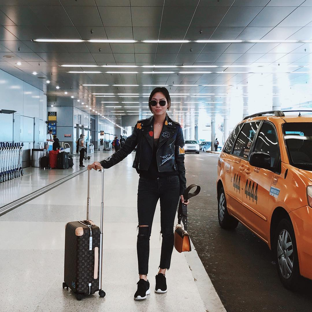 Insta-Girls Airport Style Aimee Song
