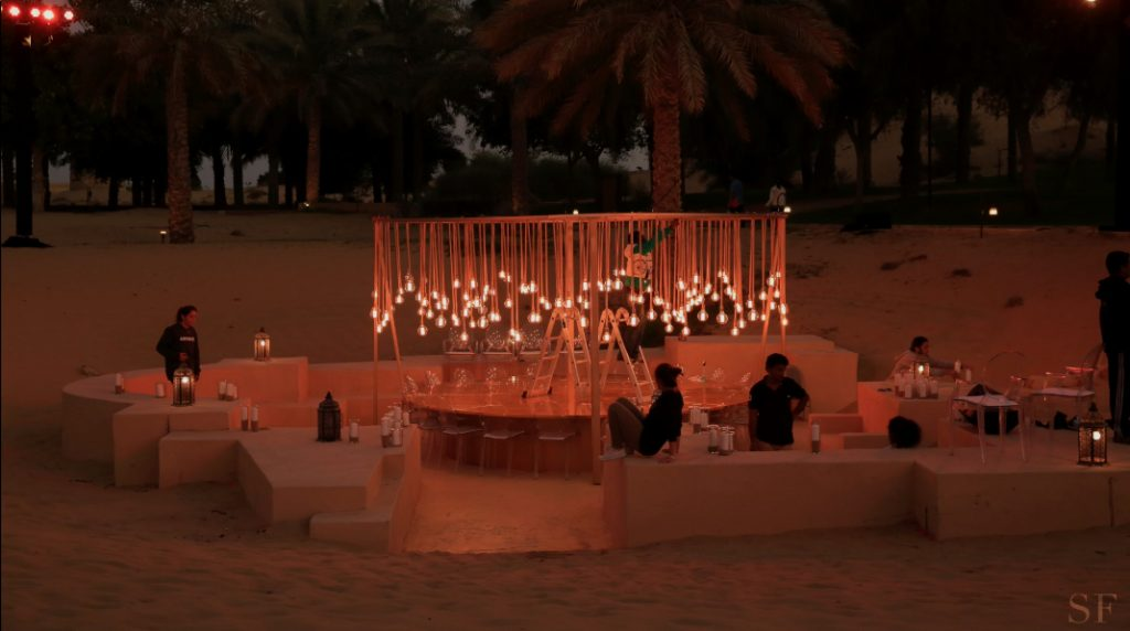Watch Savoir Flair and Dior's Magical Desert Dinner Come Alive