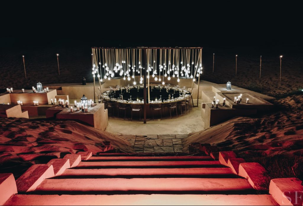 Inside Savoir Flair's Intimate Desert Dinner with Dior