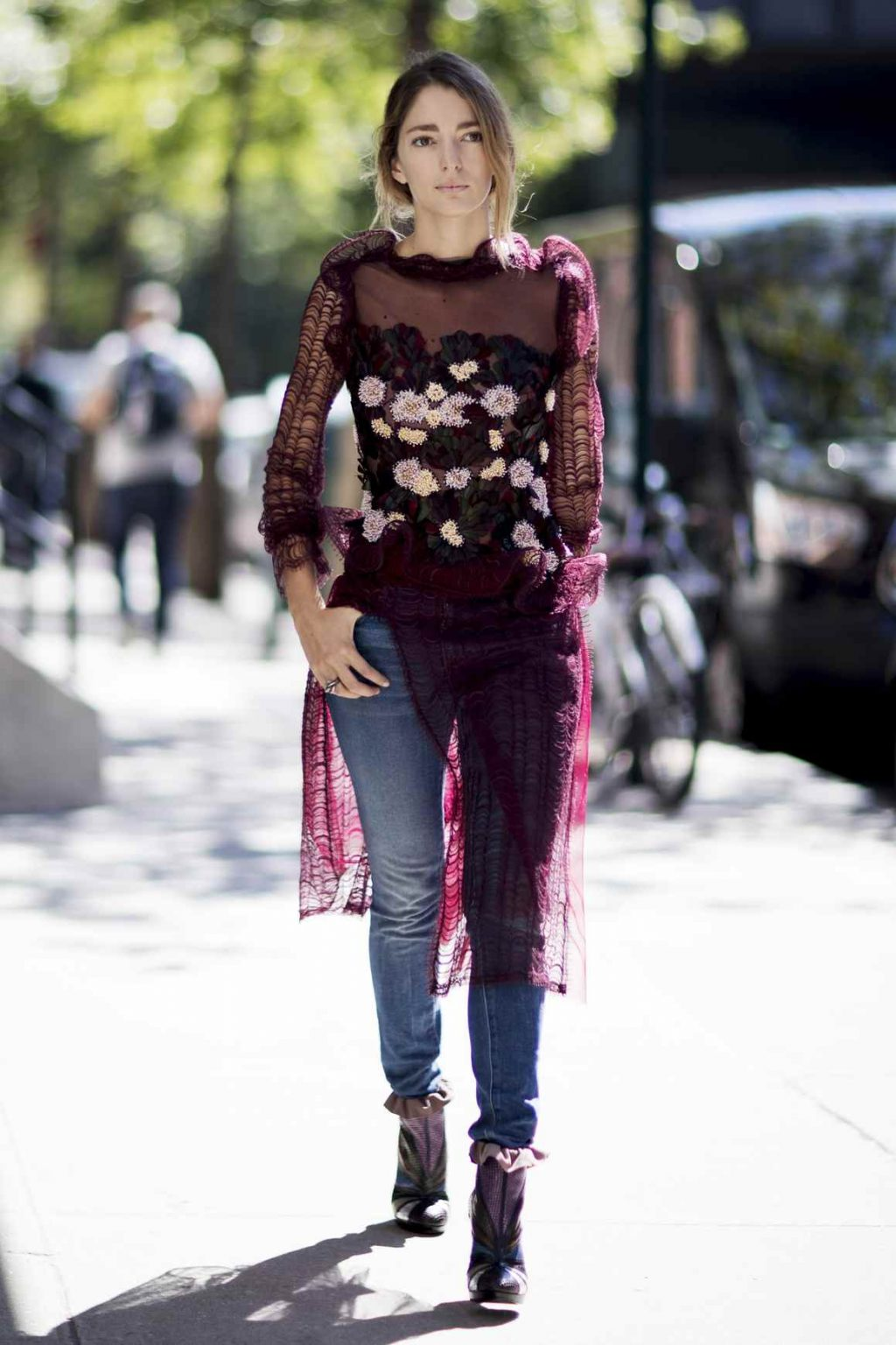 Fashion week How to sheer wear clothing for woman