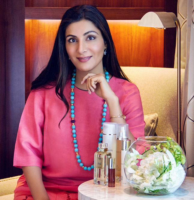 Dr. Lamees Hamdan, Founder of Shiffa, Reveals Her Beauty Routine