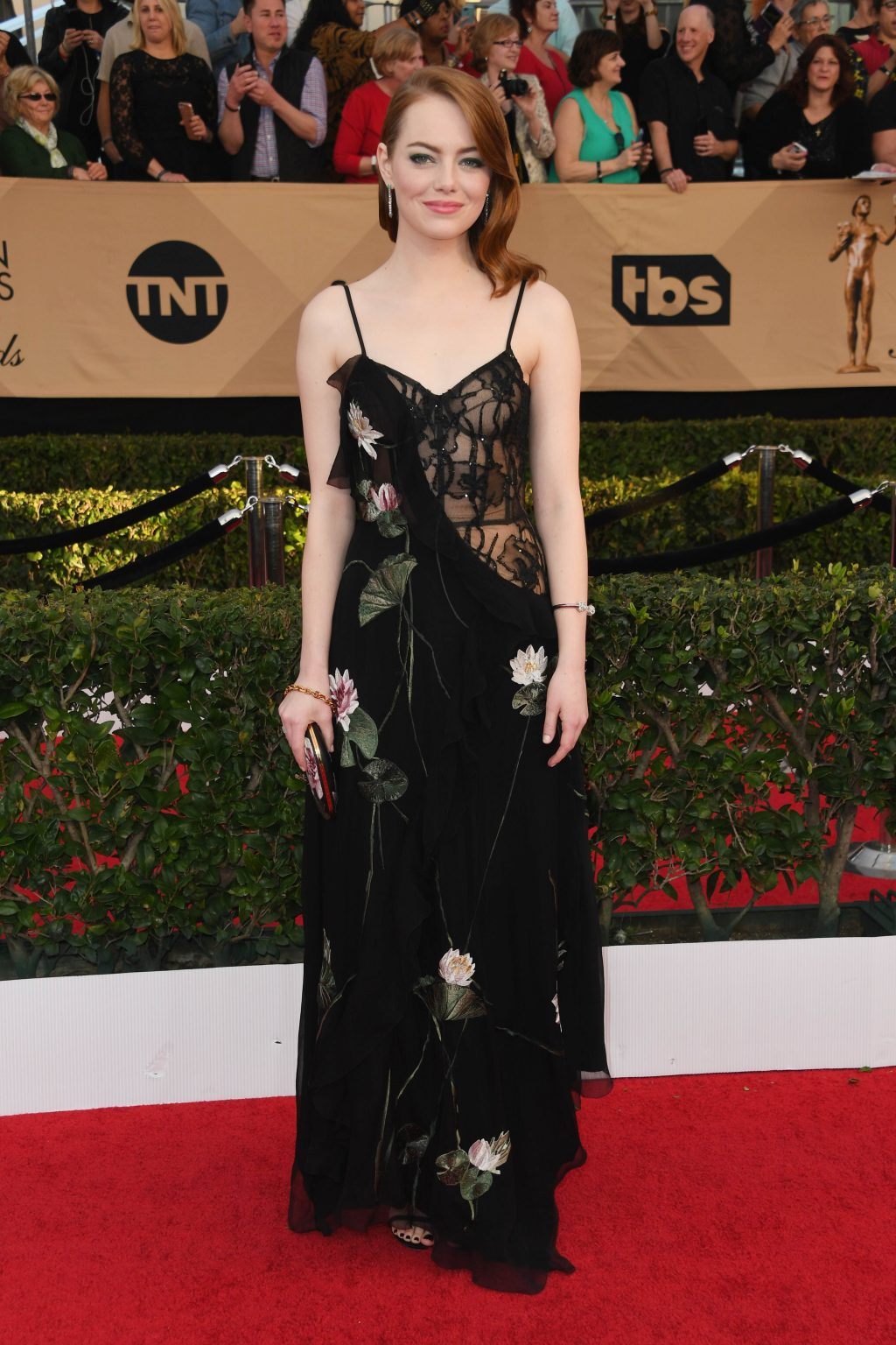 The Best-Dressed Celebrities at the 2017 SAG Awards