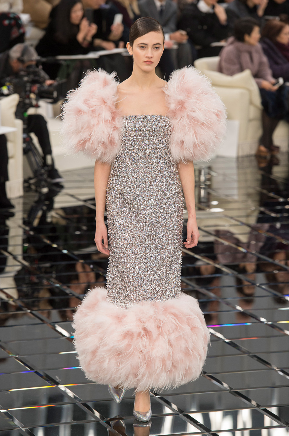 A Fine Feathered Collection at Chanel Spring 2017 Couture
