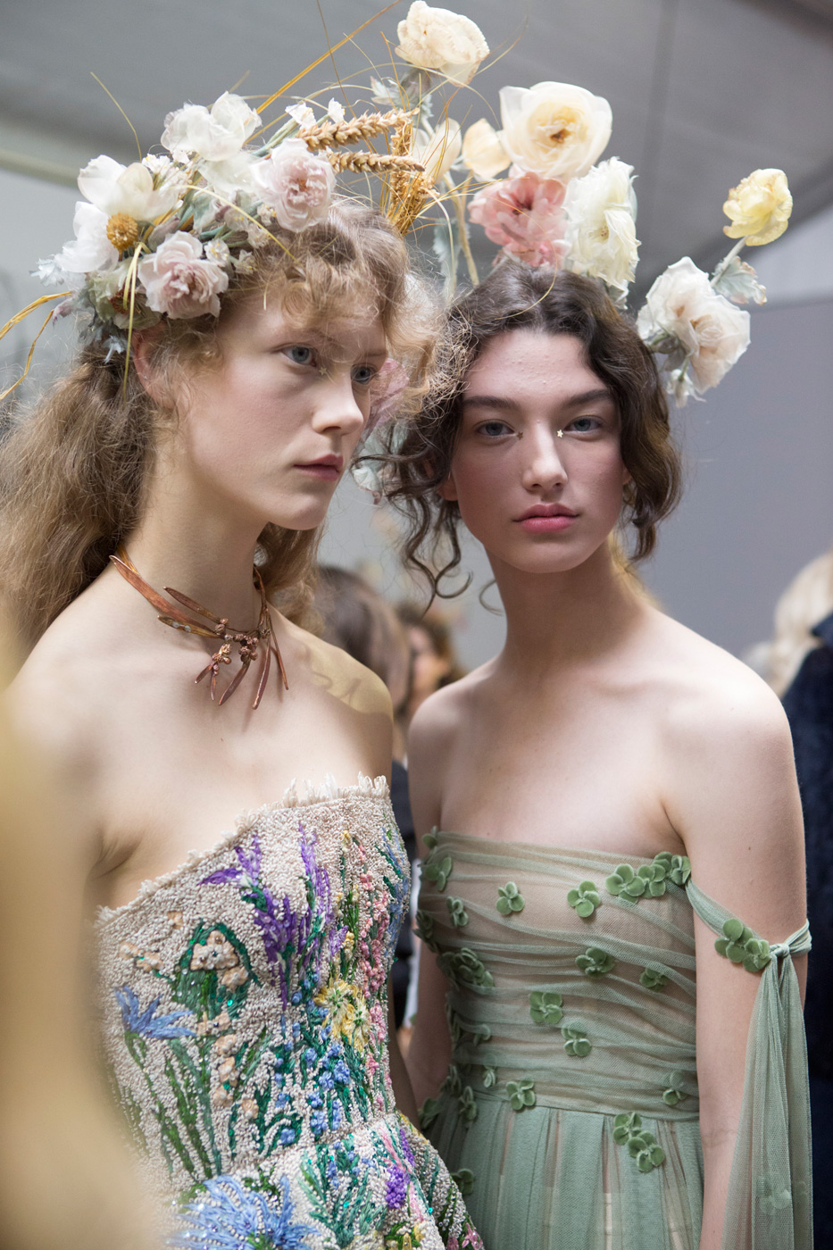 Dior haute couture ss17 backstage