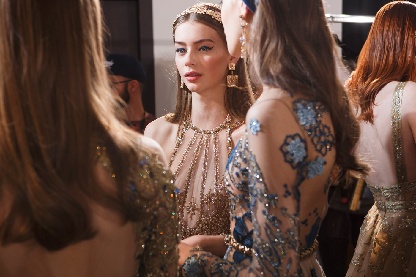 Elie Saab haute couture spring/summer 2017 backstage
