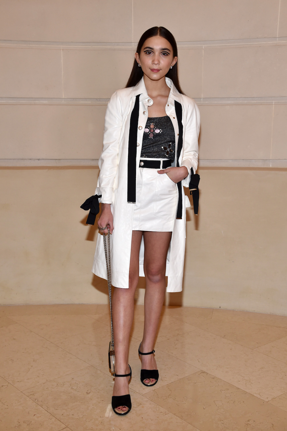 "Rowan Blanchard attends ""Chanel Collection des Metiers d'Art 2016/17 : Paris Cosmopolite"" Show on December 6, 2016 in Paris, France."