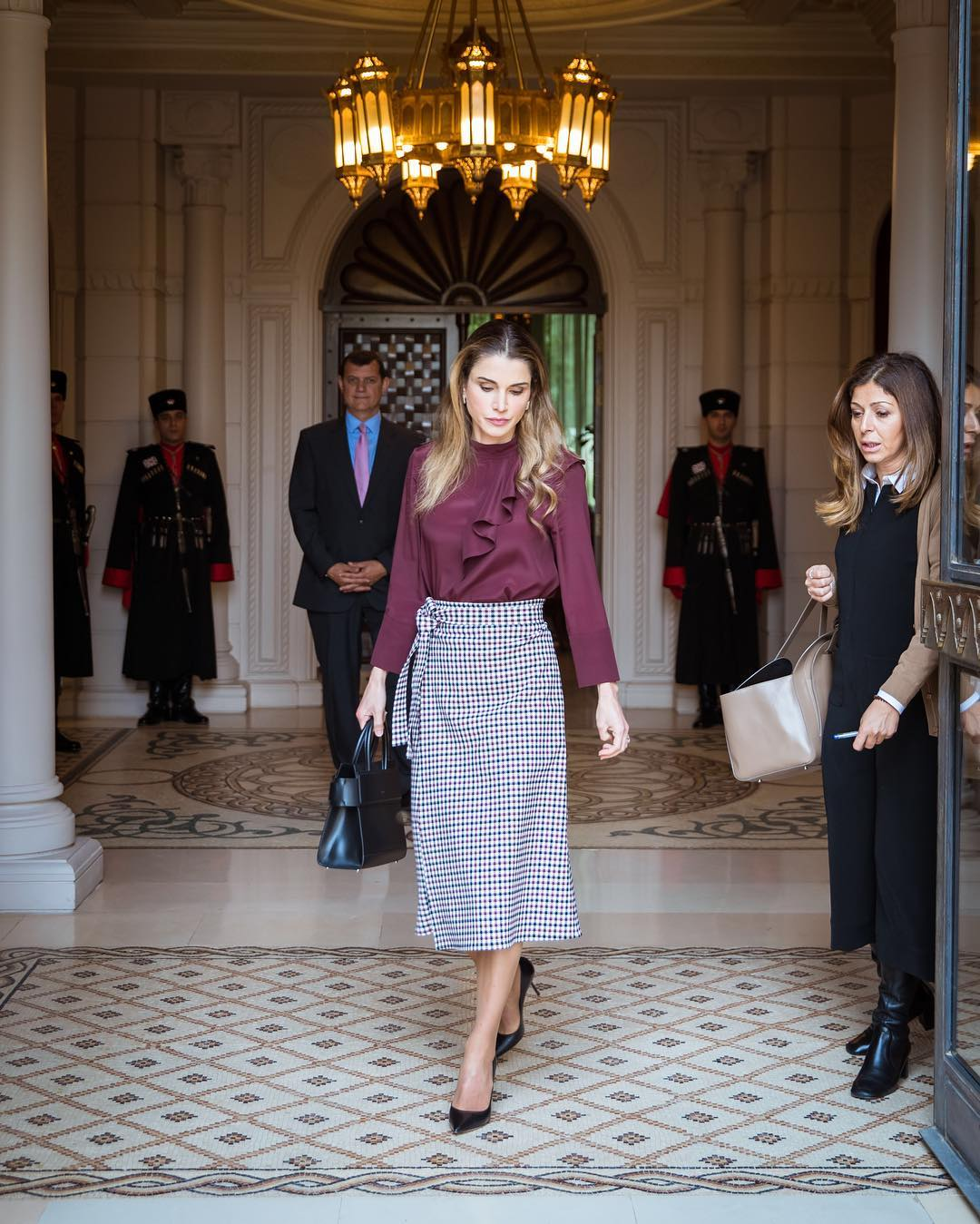 Queen Rania Workwear Style