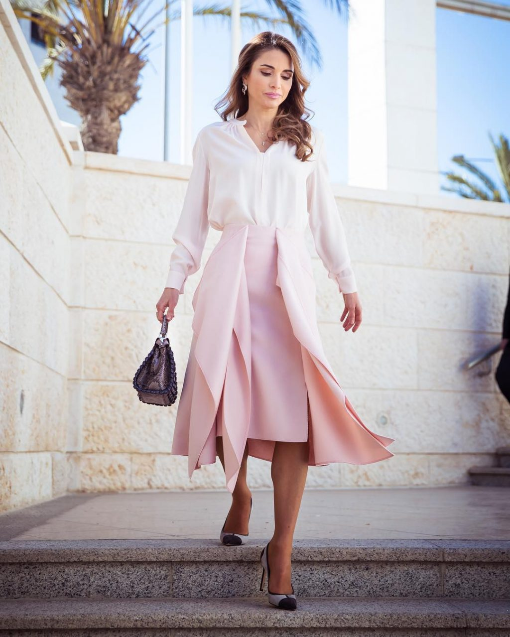 Queen Rania's Impossibly Chic and Fail-Safe Workwear Formula