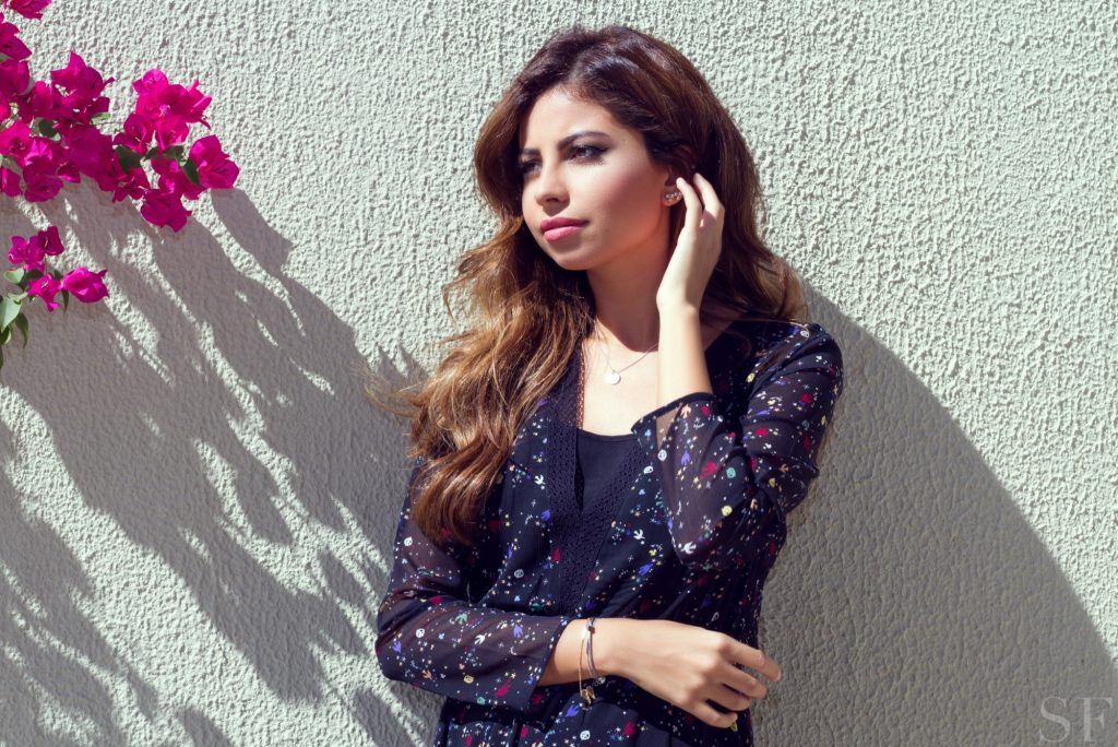 Saudi TV Presenter Sara Murad Reveals Her Beauty Routine