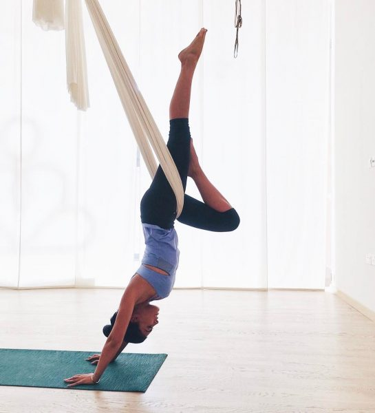 Tala Samman Workout Exercise Routine Aerial Yoga