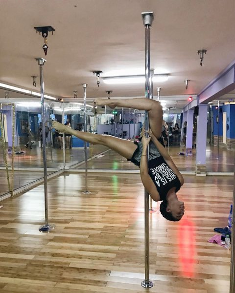 Tala Samman Workout Exercise Routine Pole