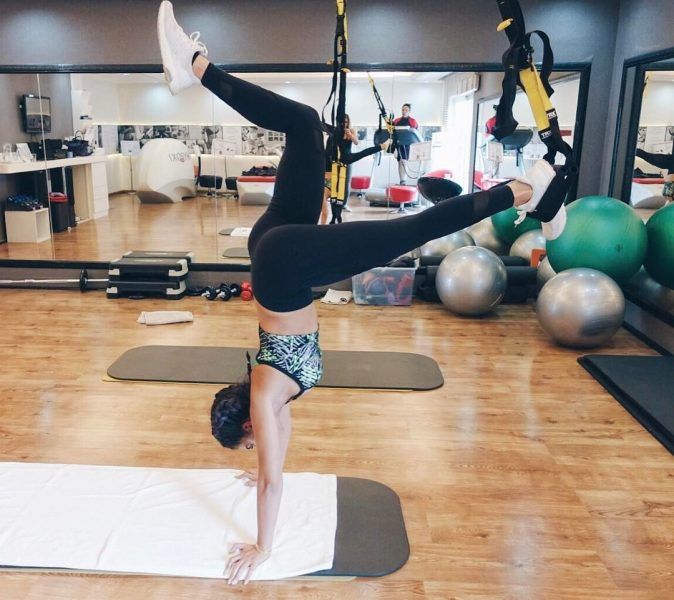 Tala Samman Workout Exercise Routine TRX
