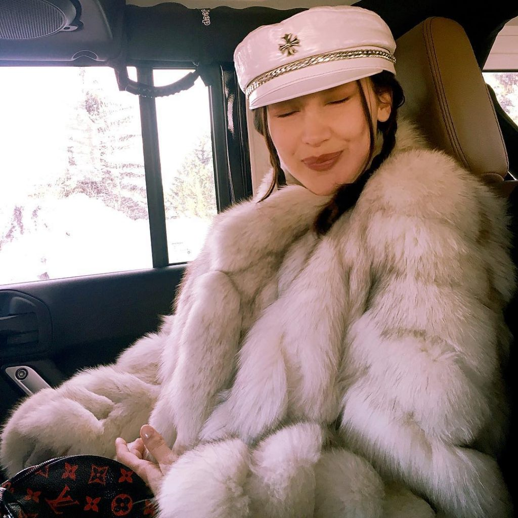 Bella Hadid Is Determined to Bring Back This Hat Style