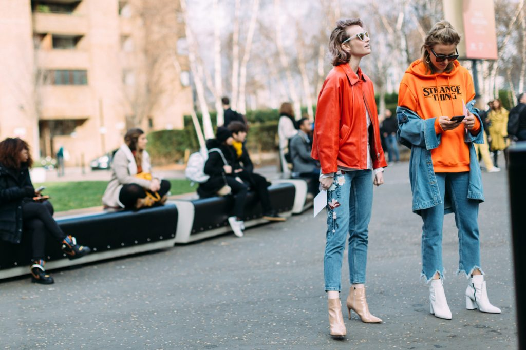 What the Fashion Girls Are Wearing to the LFW Shows