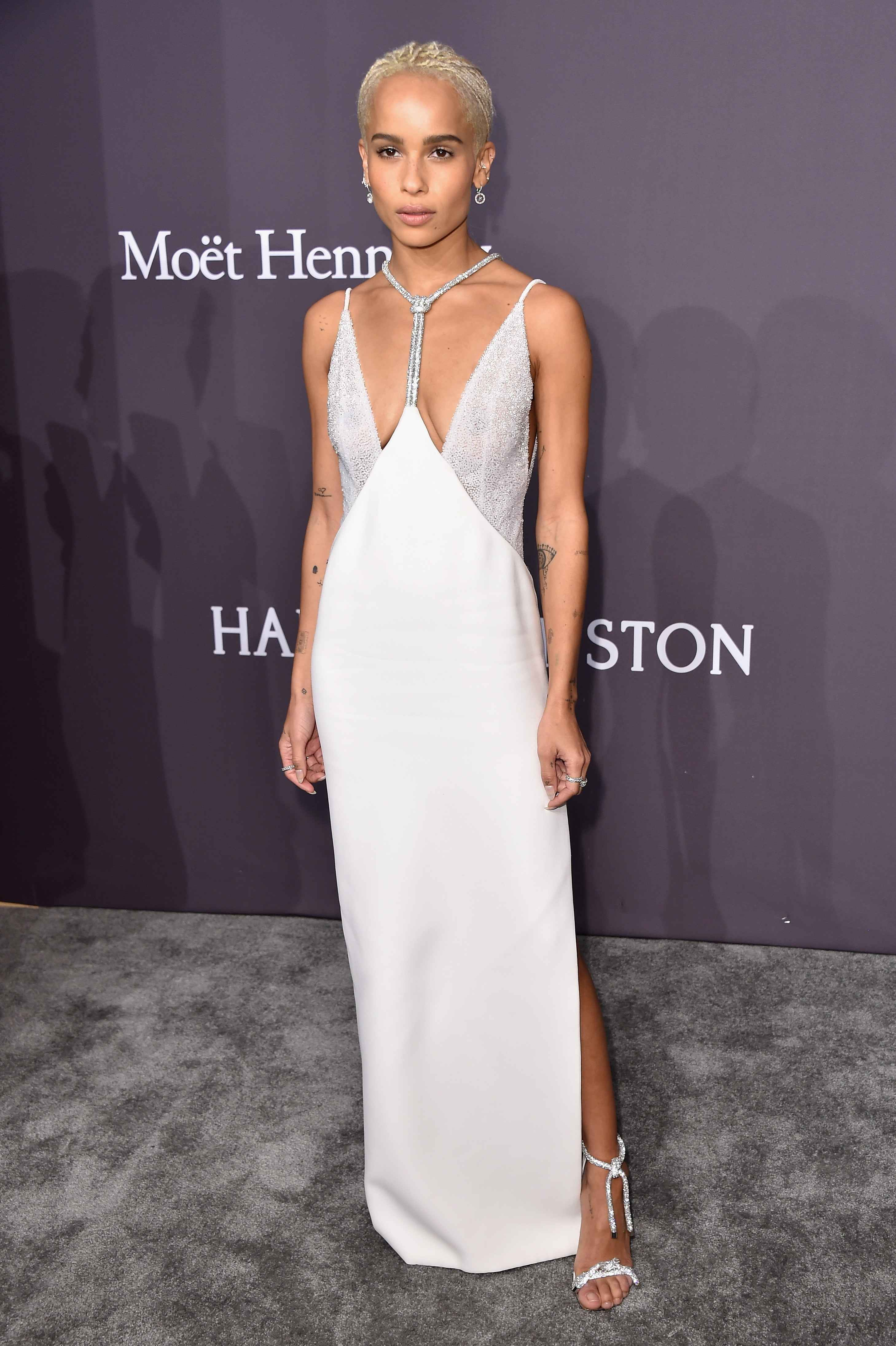 Celebrity Style Red Carpet Zoe Kravitz