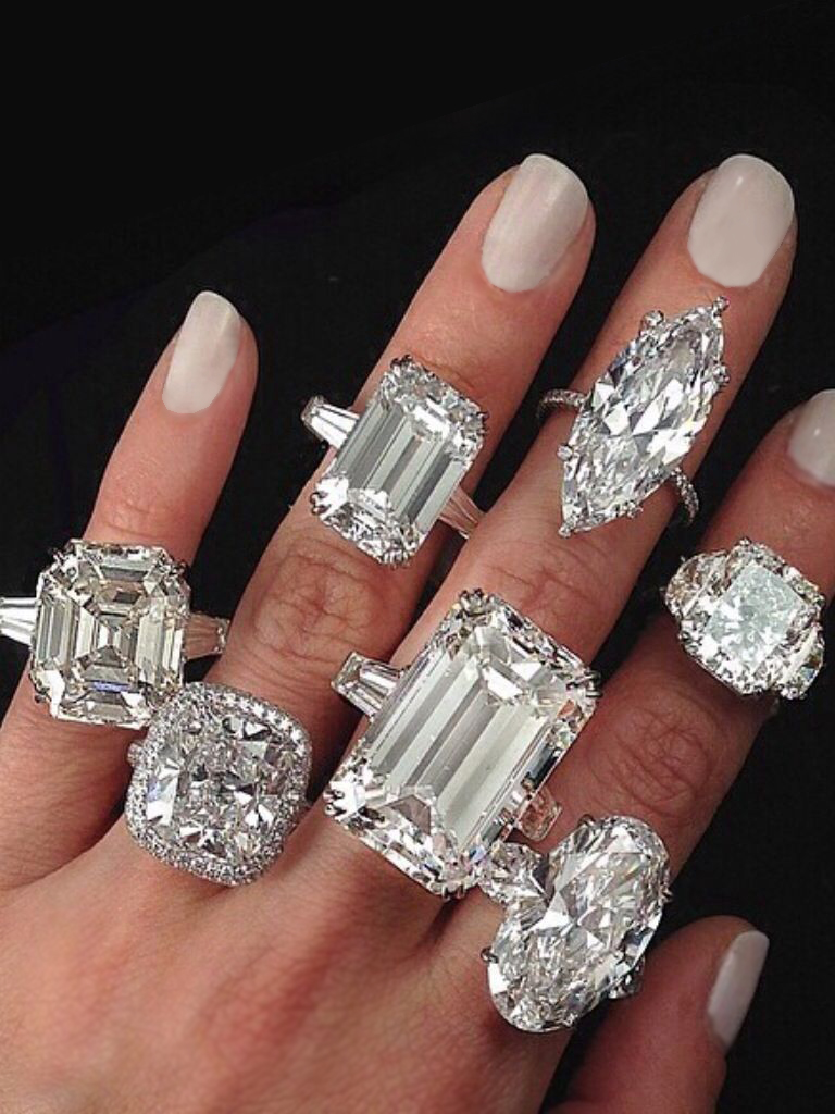 ChicLeParis insta diamond rings
