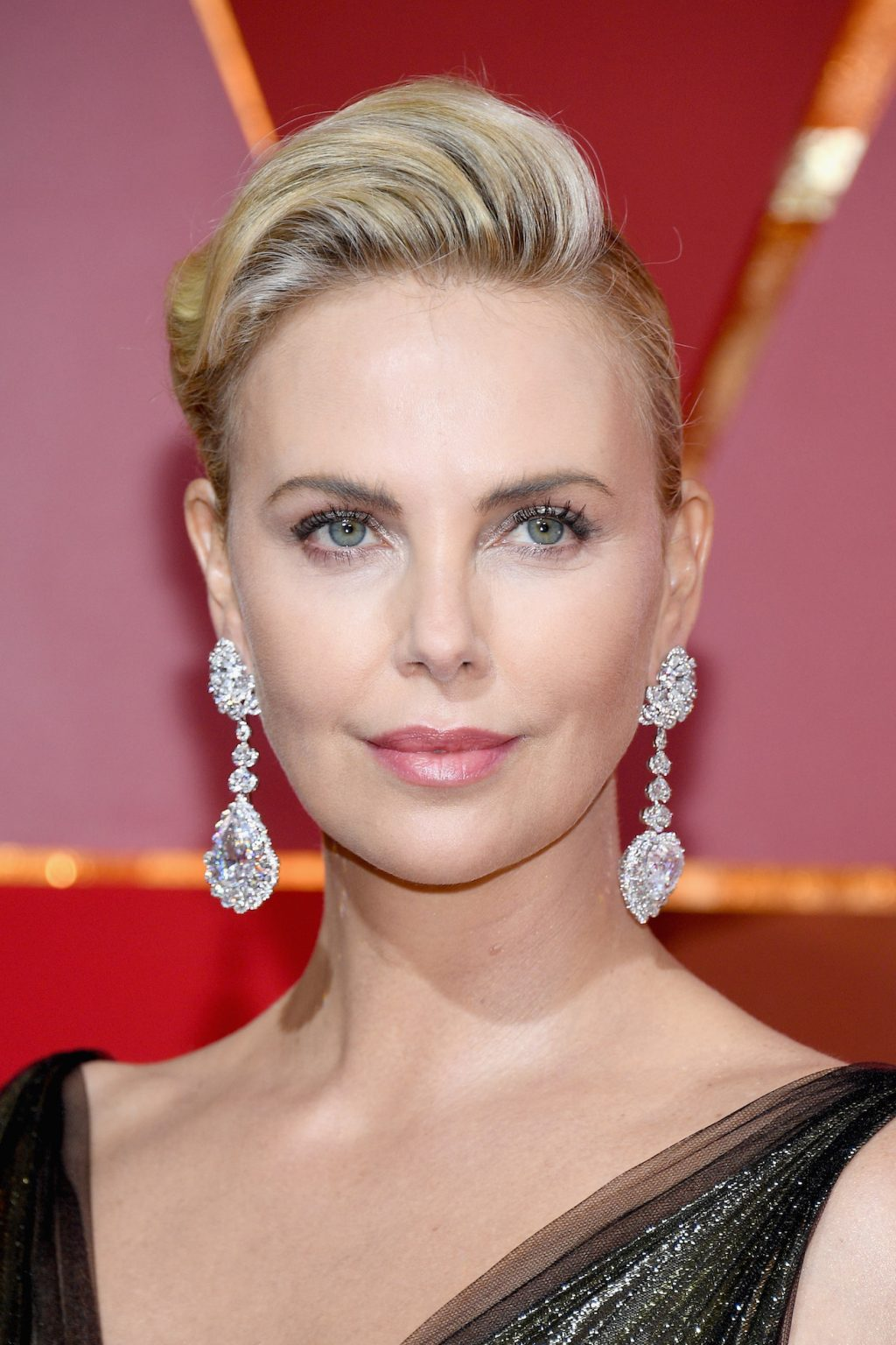 Charlize Theron's Oscars Earrings Just Broke the Internet
