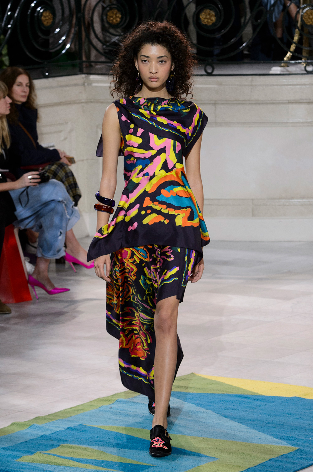 Incan Embroidery Brings an Exotic Edge to the Peter Pilotto Catwalk