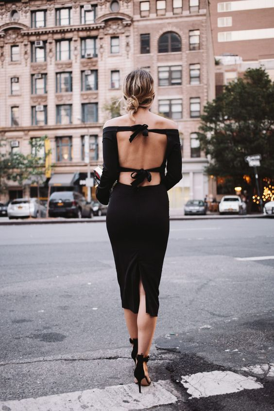 Bringing Sexy Back This Valentine's Day? Do It With an Open-Back Outfit