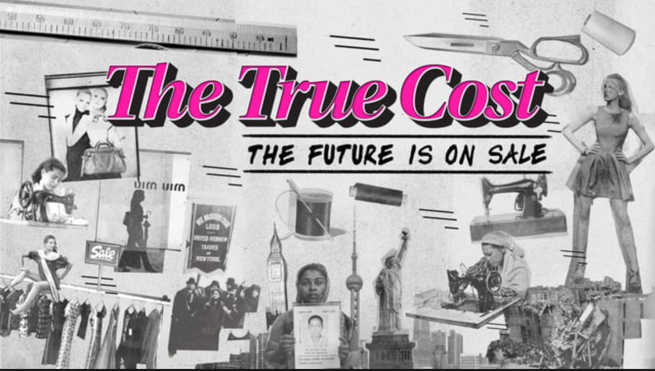 the true cost fashion documentary poster