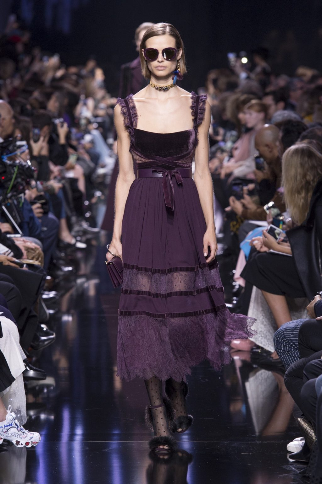 Elie Saab's Dark, Glamorous Ballerina Story for Fall/Winter 2017