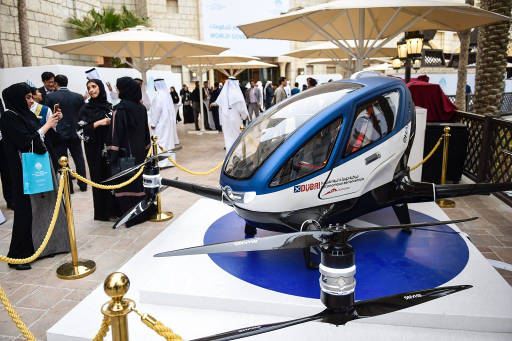 10 Things Every Dubai Girl Should Do on a Self-Flying Taxi