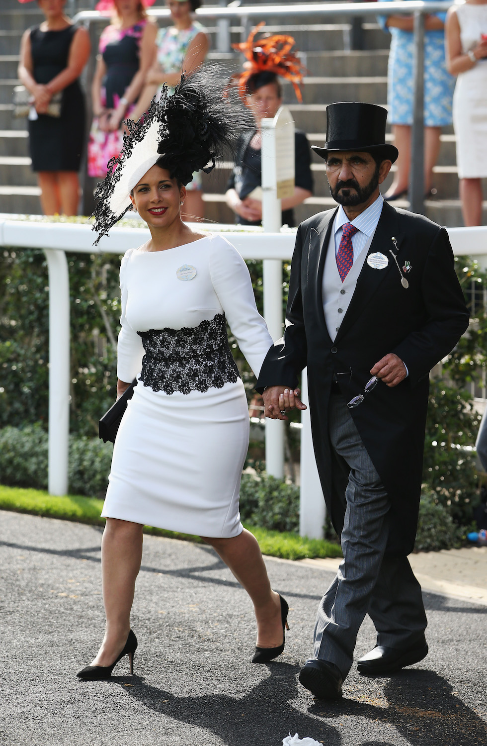 Princess Haya and Sheikh Mohammed are #CoupleGoals at the Royal Ascot 2012.