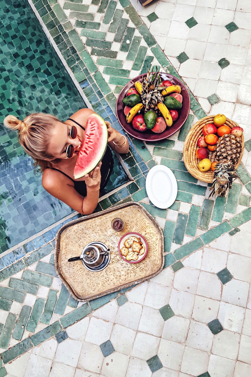 Marrakech vacation hygge lifestyle