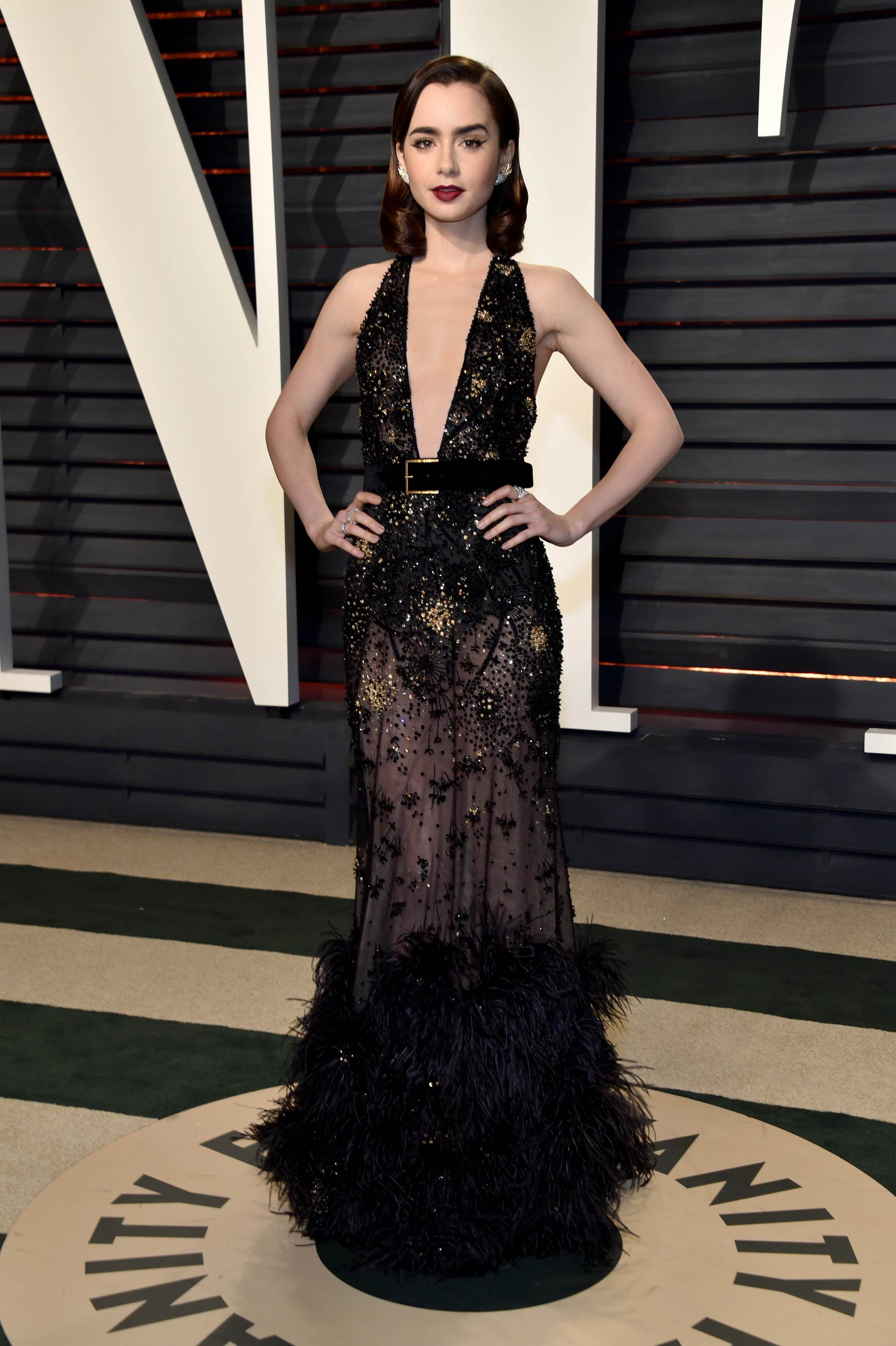 Red Carpet, Celebrity Style, Lily Collins