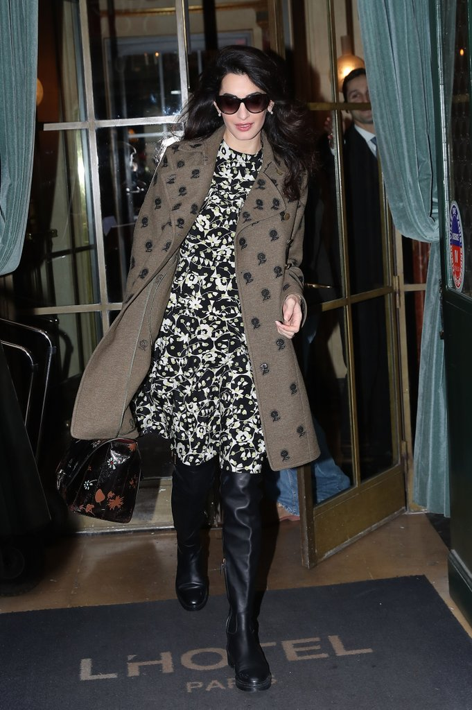 Celebrity Style, Hollywood Power Couple, Celebrity Pregnancy Style, Amal Clooney