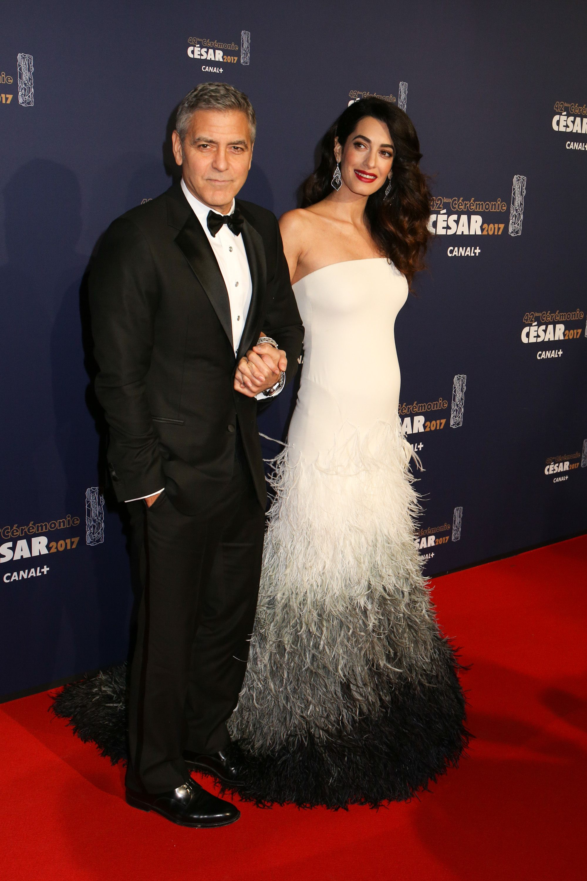 Celebrity Style, Hollywood Power Couple, Celebrity Pregnancy Style, Amal Clooney, George Clooney