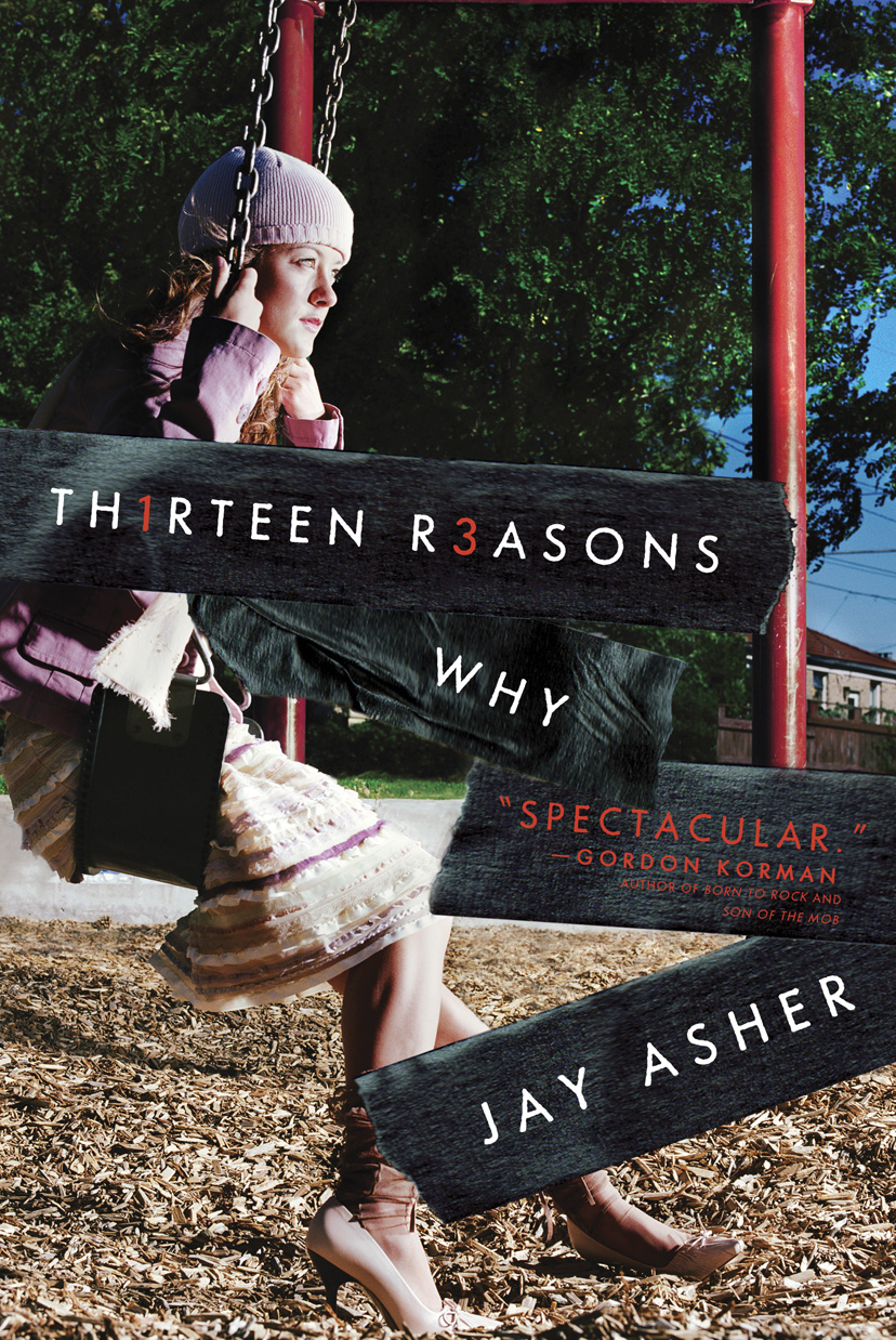 13 reasons why book cover amazon