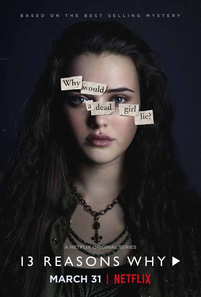 13 reasons why netflix poster with hannah