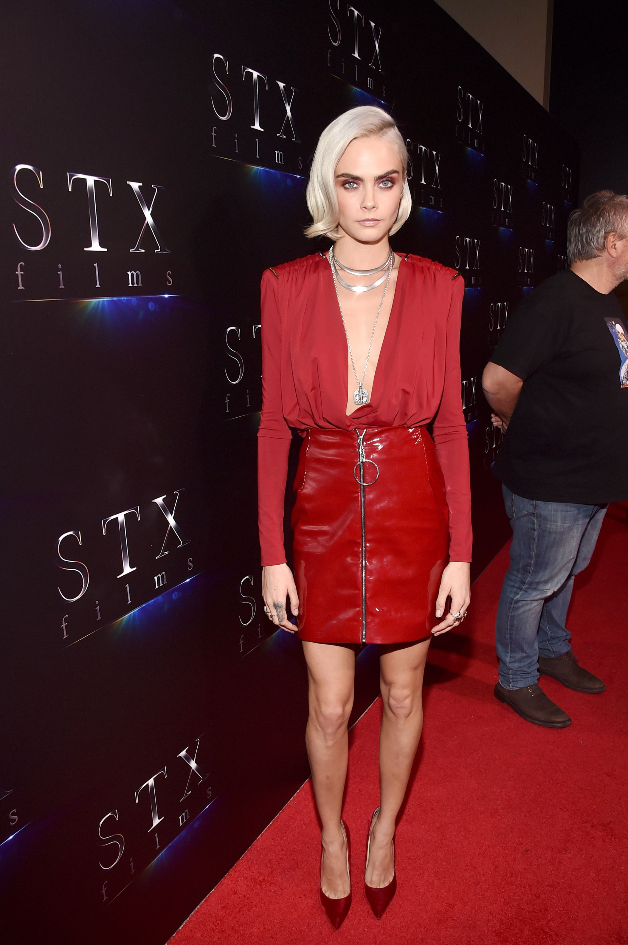 Red Carpet Celebrity Style Cara Delevingne April 2017