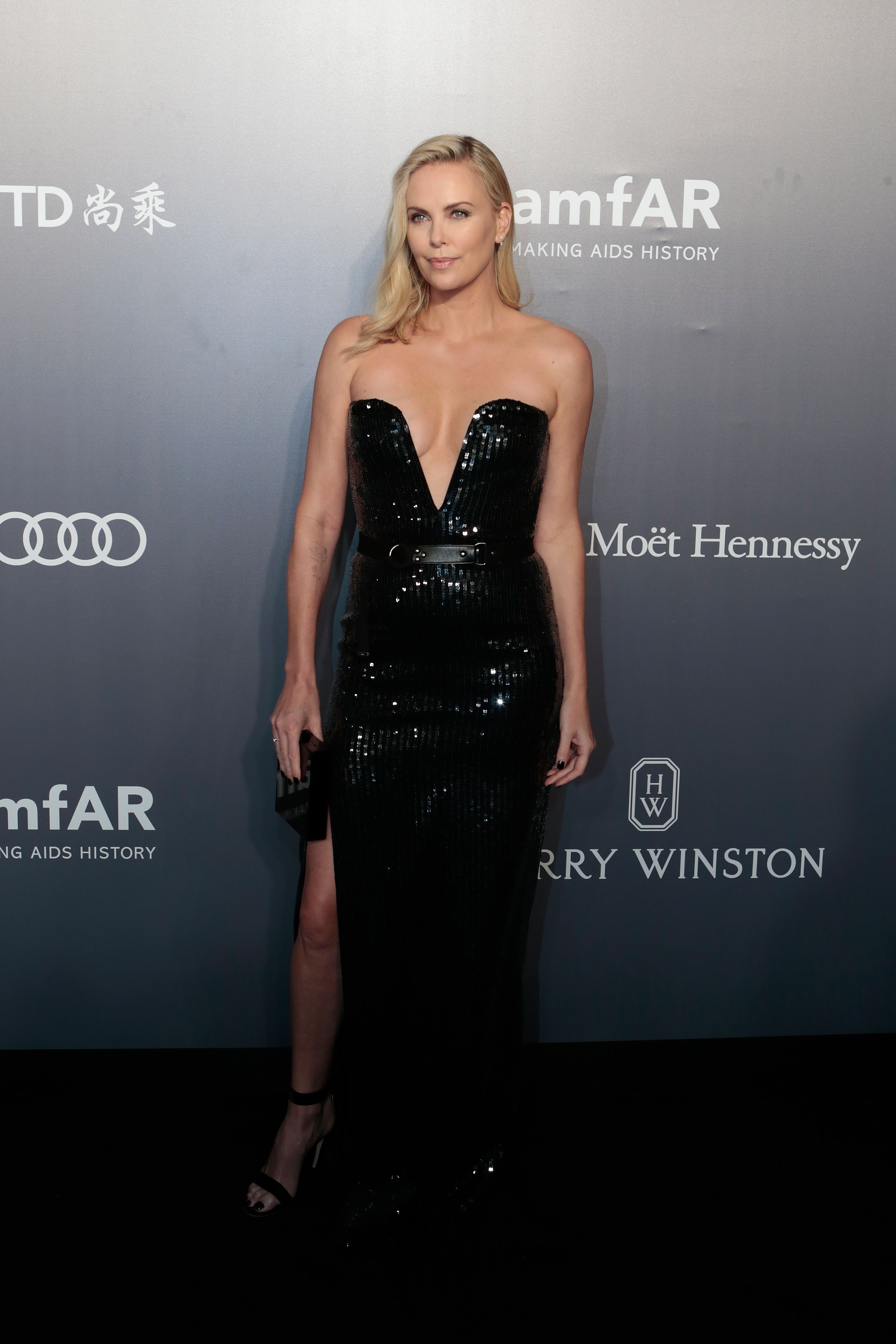 Red Carpet Celebrity Style Charlize Theron April 2017