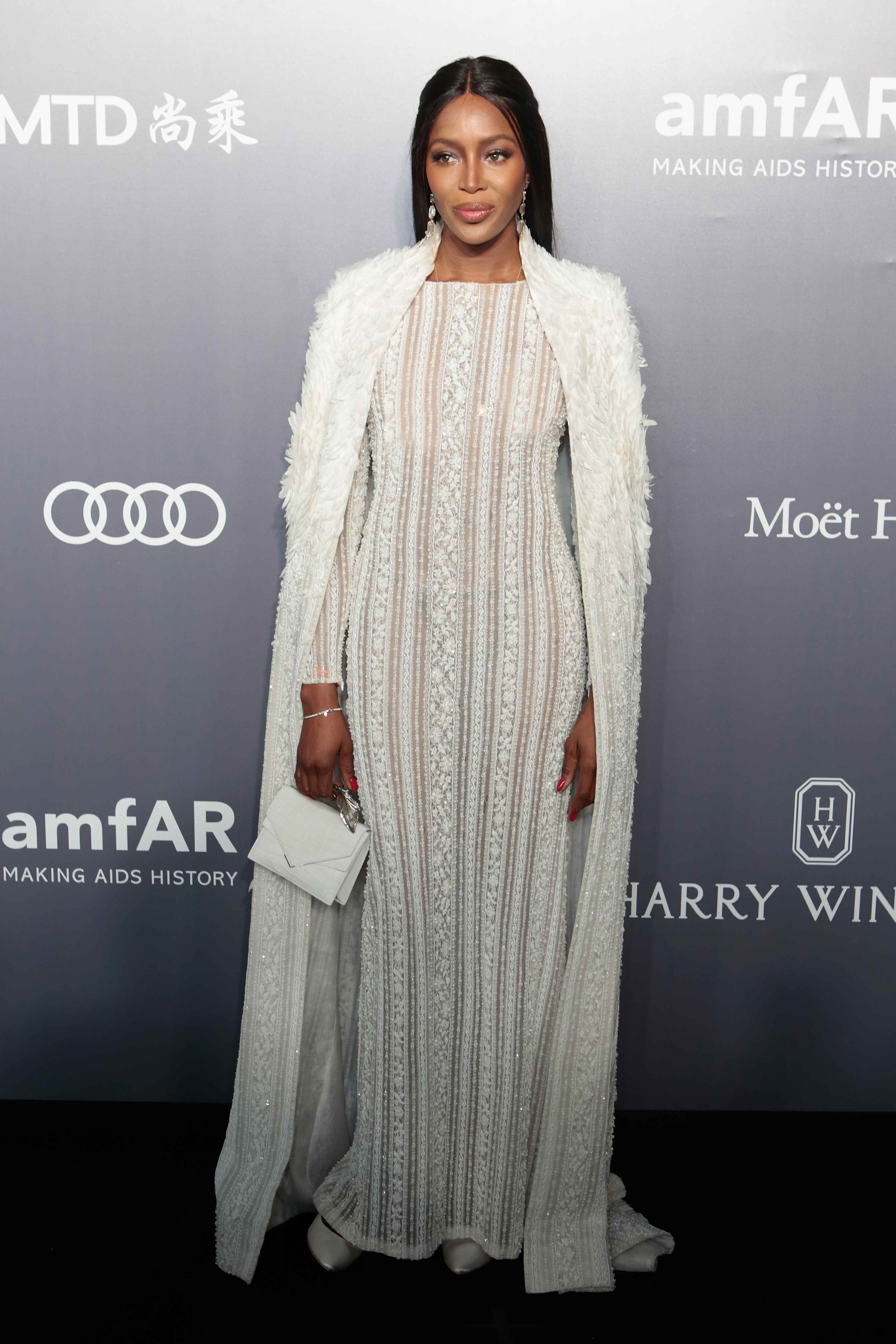 Red Carpet Celebrity Style Naomi Campbell April 2017